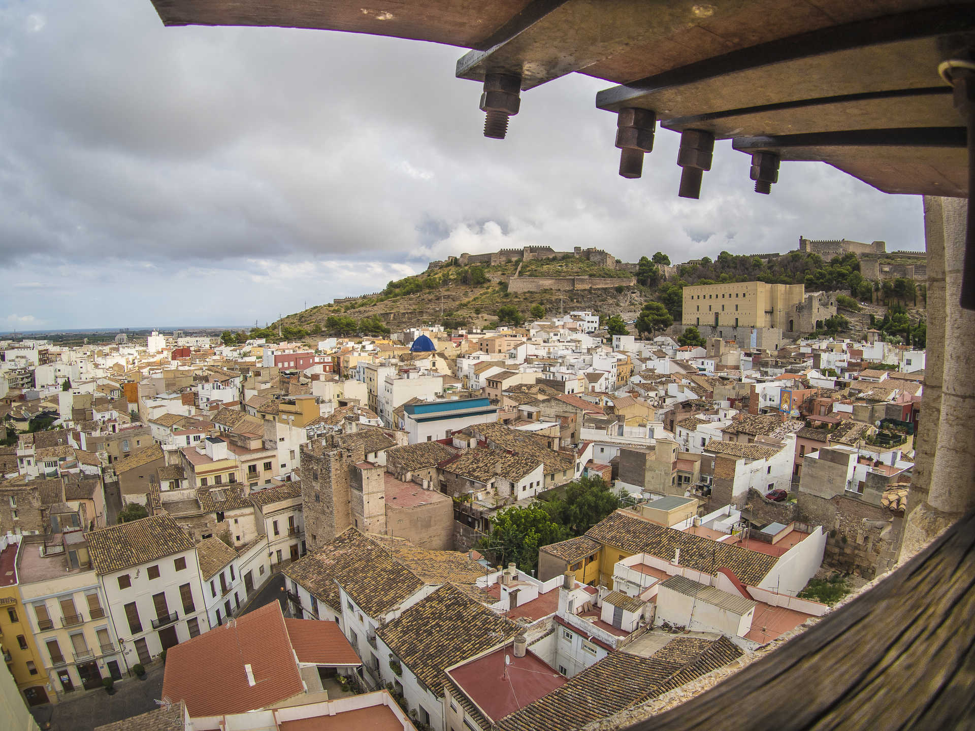 La Villa de Sagunto (old town: Judería, plaza Mayor and Calvario)