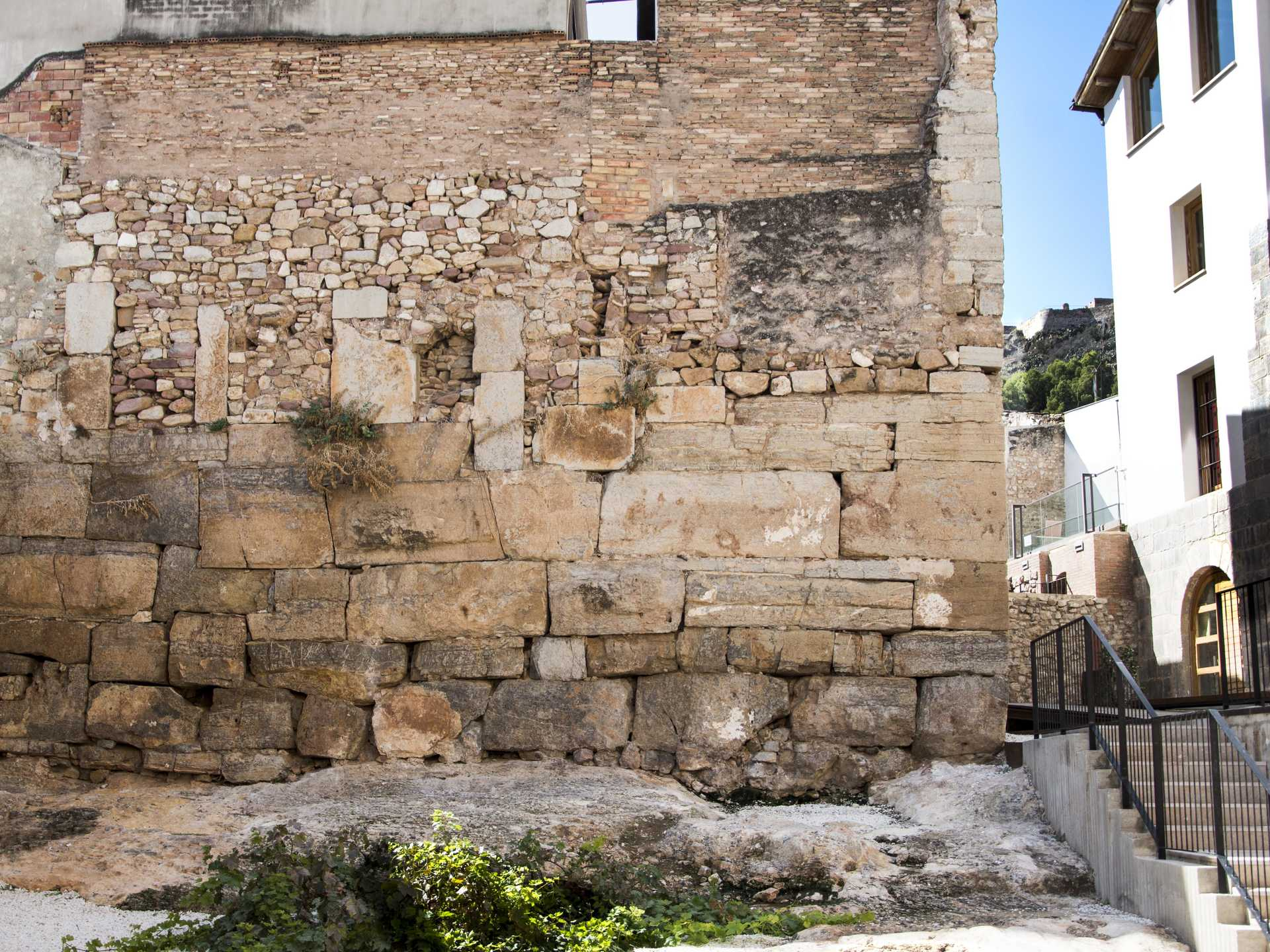 The Temple of Diana (remains of the walls)