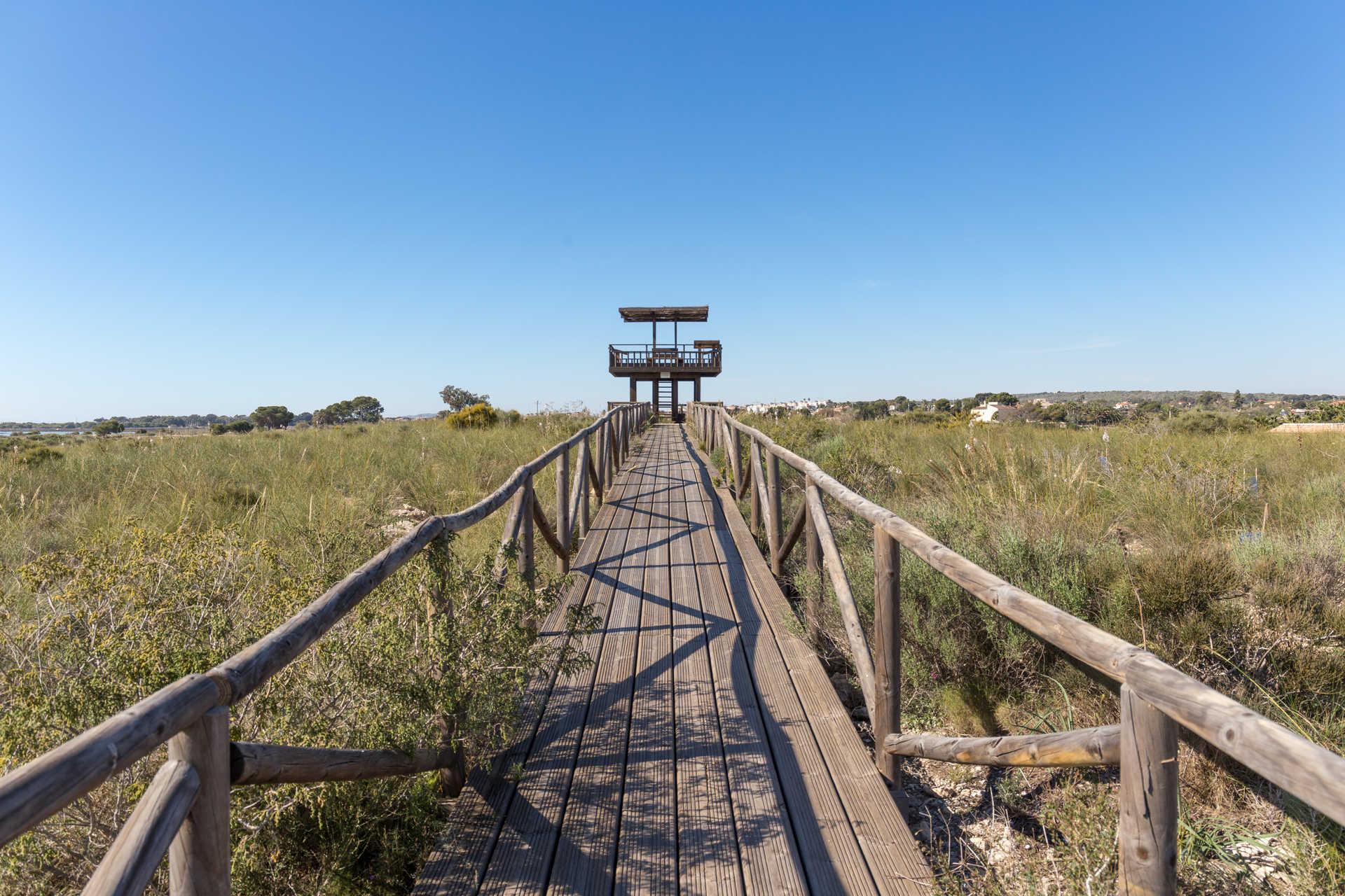 Parc Naturel des Marais Salants de Santa Pola