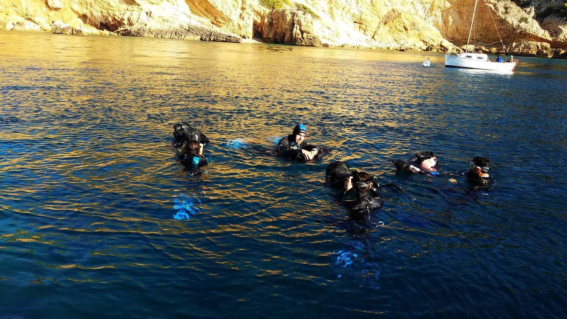 Immersió més allotjament a Xàbia