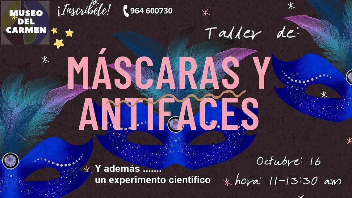 TALLER DE MASCARES + EXPERIMENT CIENTÍFIC, MUSEU DE CIÈNCIES NATURALS