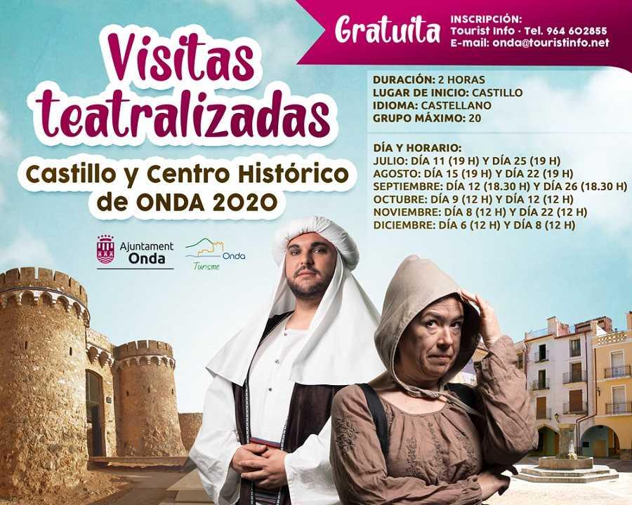 Visitas teatralizadas al Castillo y Centro Histórico