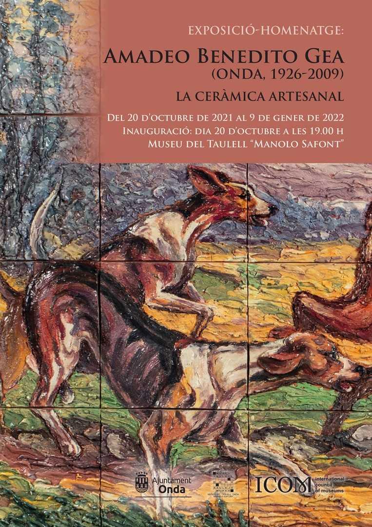 EXPOSICIÓ-HOMENATGE AL MUSEU DEL TAULELL: AMADEO BENEDITO GEA
