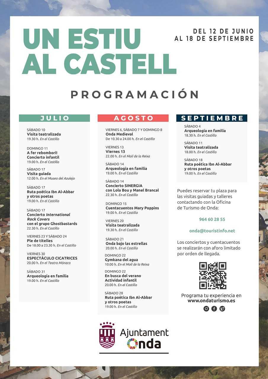 UN ESTIU AL CASTELL, ONDA 2021
