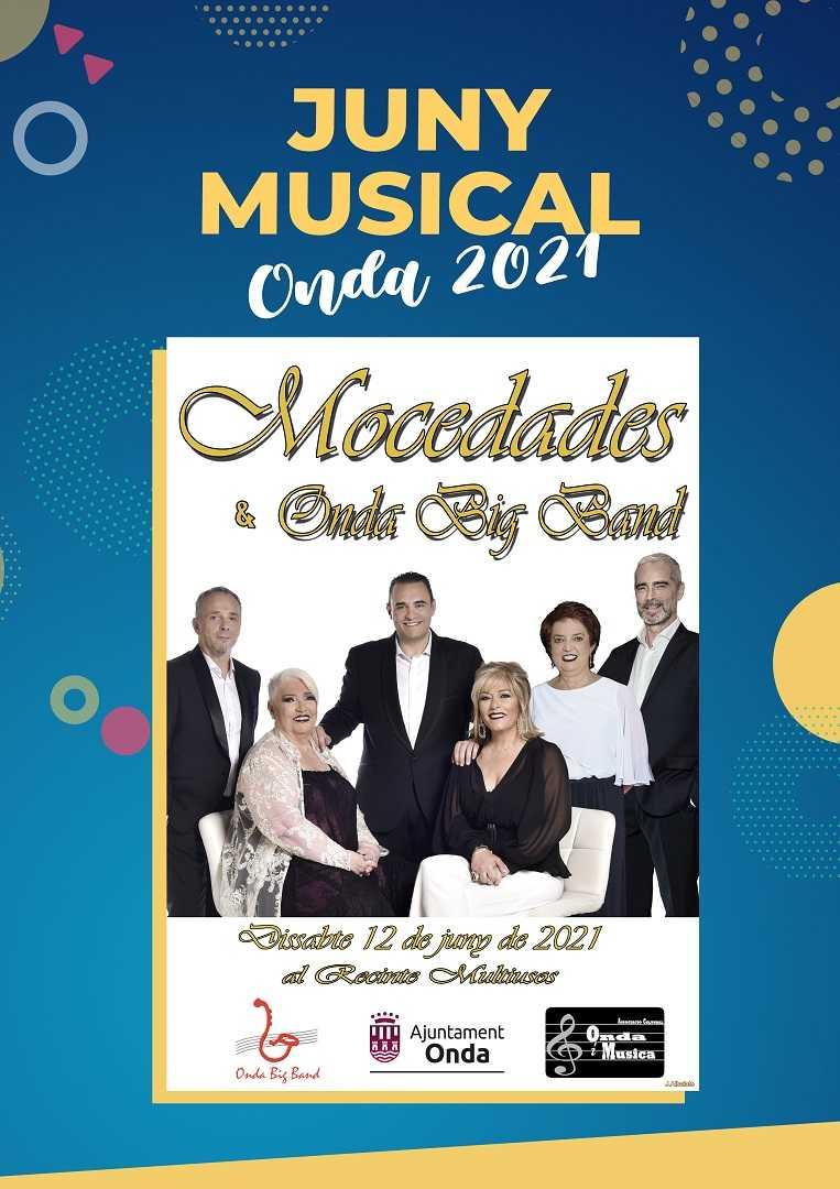 Concierto Mocedades y Big Band Onda 2021