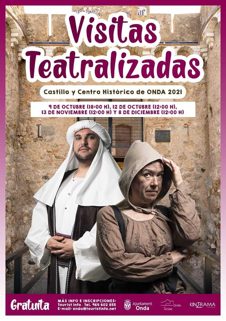 VISITES TEATRALITZADES. ONDA, TARDOR / HIVERN 2021.