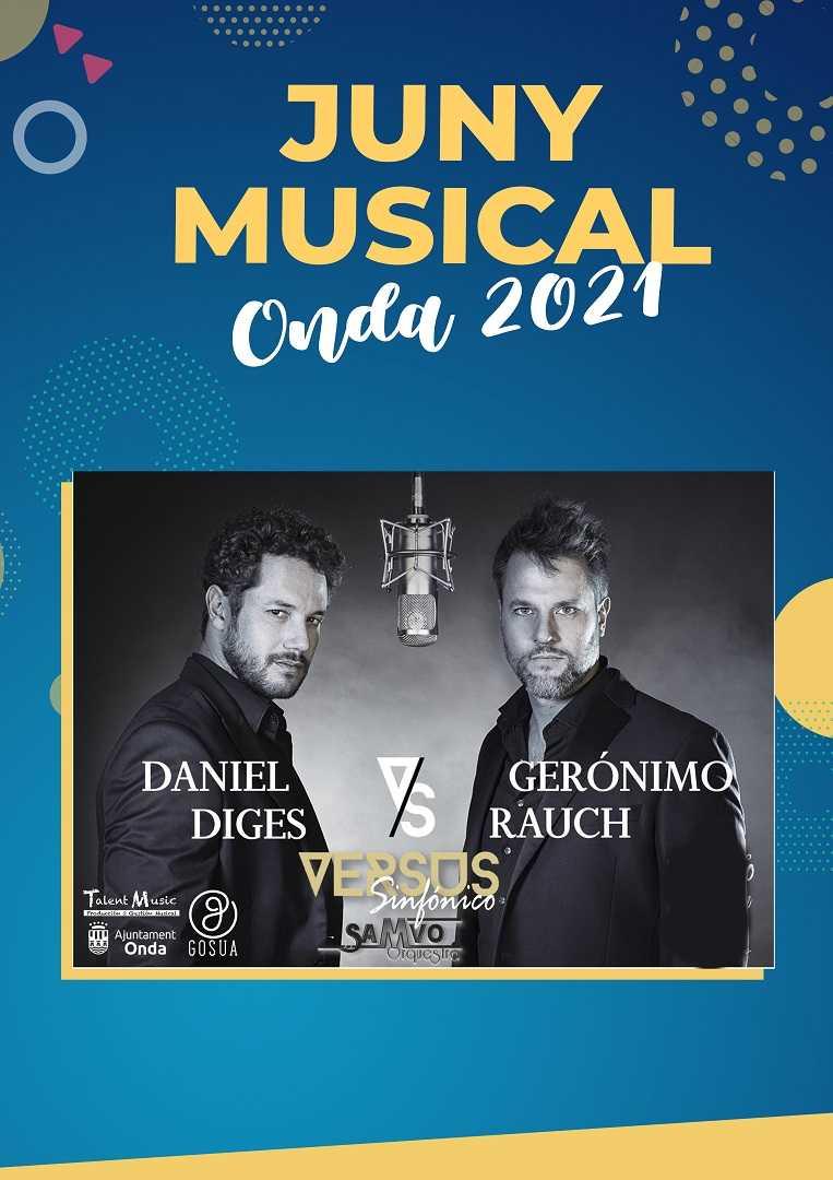 Concierto 'Versus'  Sinfónico Daniel Diges y Gerónimo Rauch con La Samvo Orquesta Onda 2021