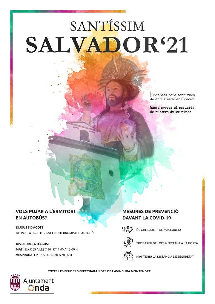 SANTÍSSIM SALVADOR ONDA 2021