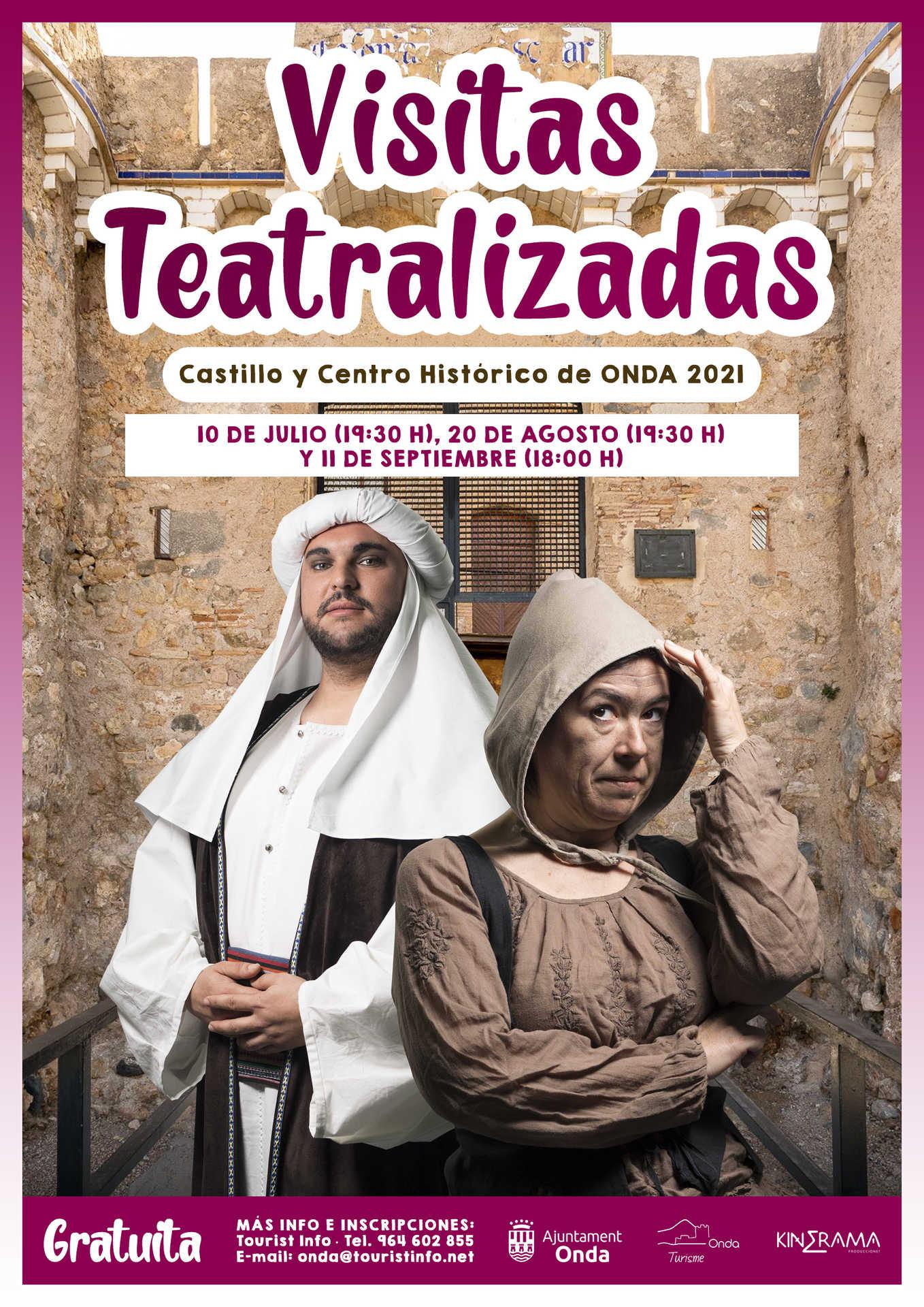 VISITAS TEATRALIZADAS VERANO 2021 EN ONDA