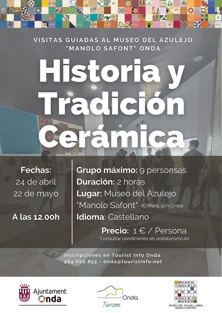 HISTÒRIA I TRADICIÓ CERÀMICA. VISITES GUIADES AL MUSEU DEL TAULELL D'ONDA