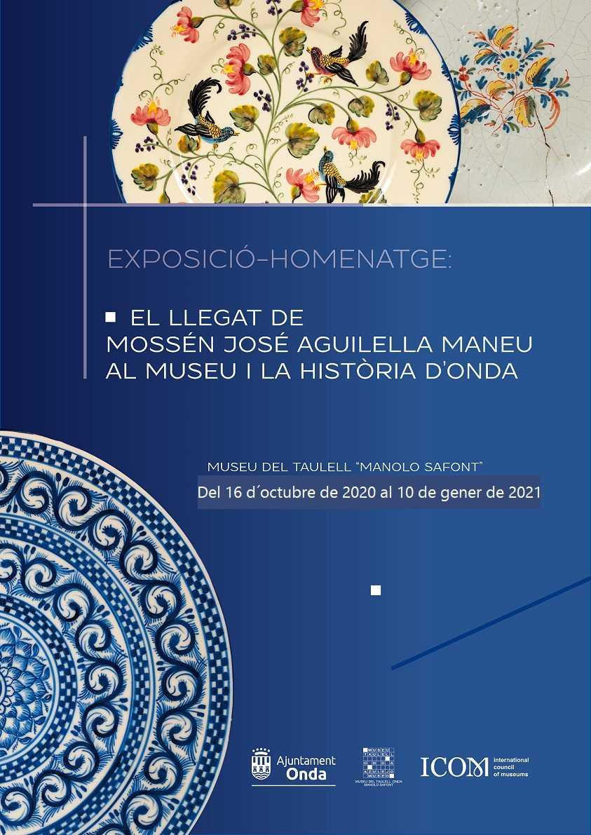EXPOSICIÓN-HOMENAJE: EL LEGADO DE MOSÉN JOSÉ AGUILELLA MANEU AL MUSEO Y LA HISTORIA DE ONDA.