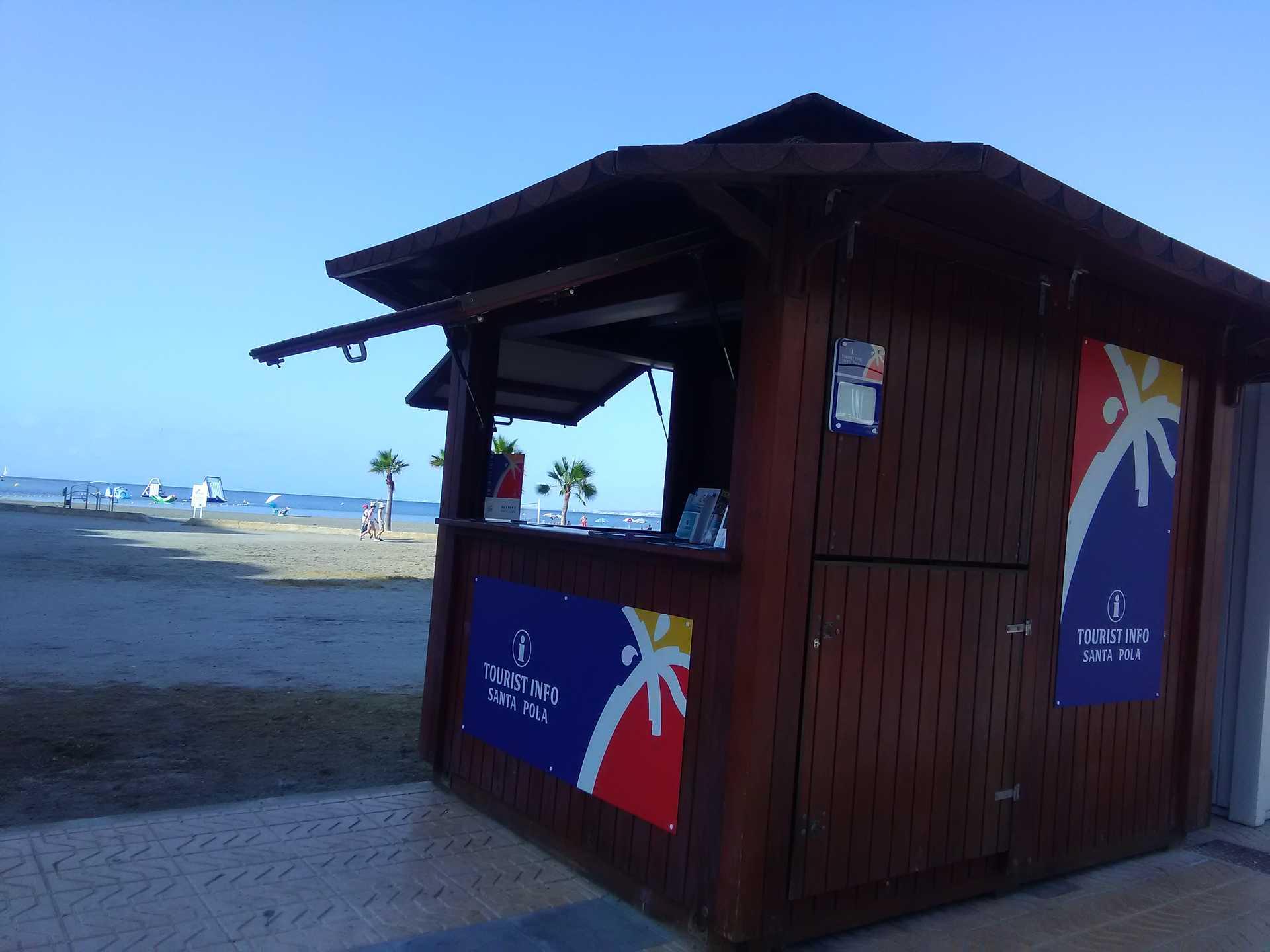 TOURIST INFO SANTA POLA - GRAN PLAYA