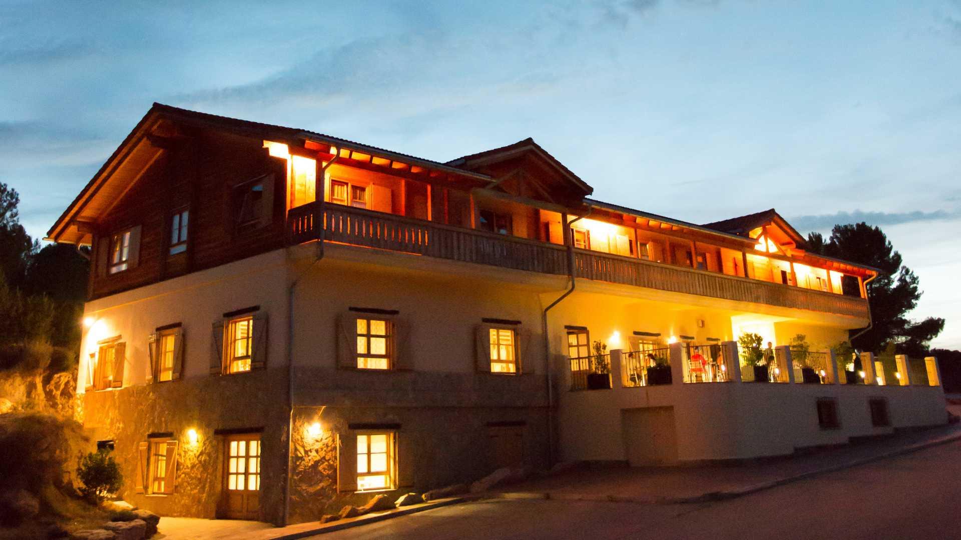 hotel rural aras de los olmos