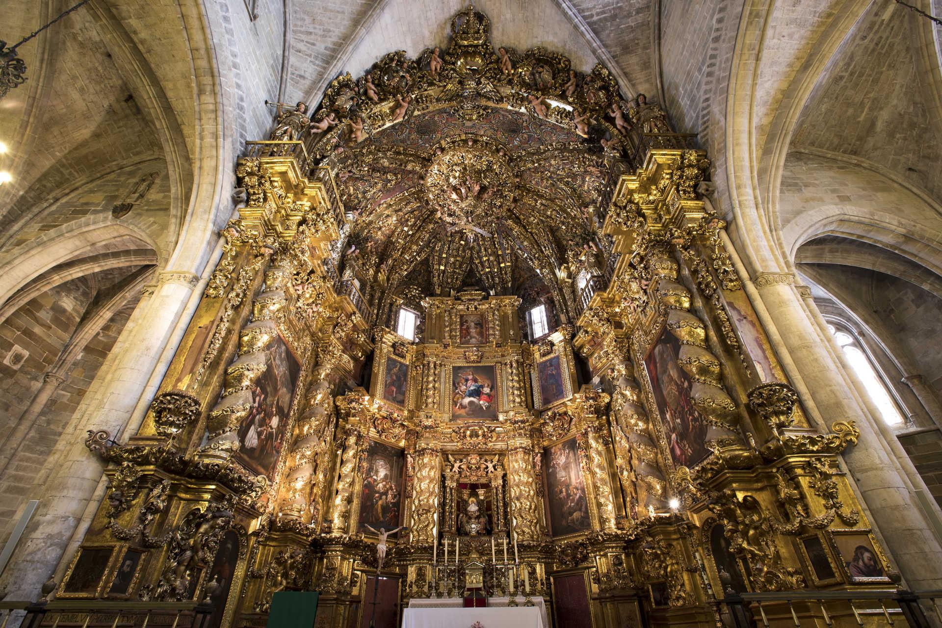Bischofskirche von der Heiligen Maria