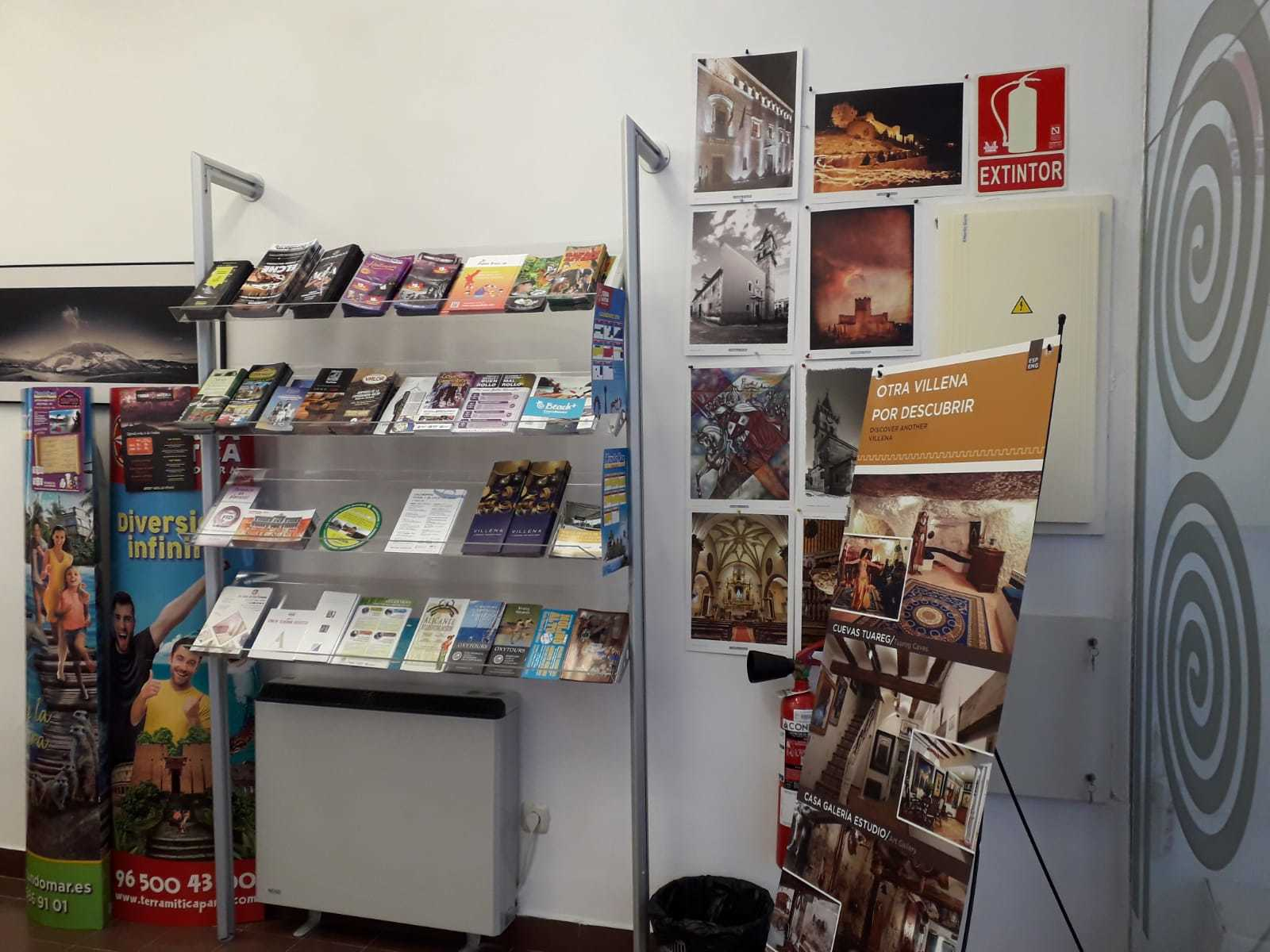 Tourist Info Office in Villena.