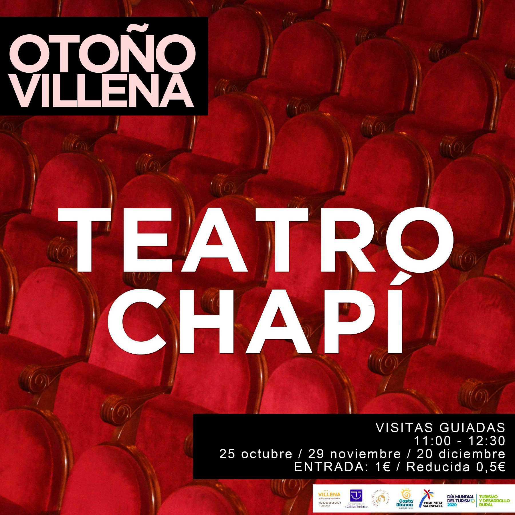 Visita guiada al Teatro Chapí