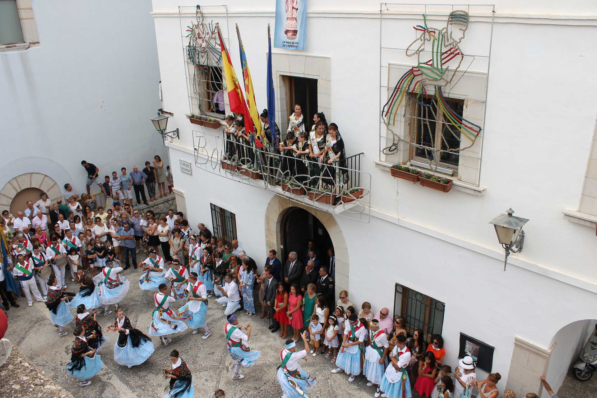Festivities in honour of the Virgin Ermitana in Peñíscola