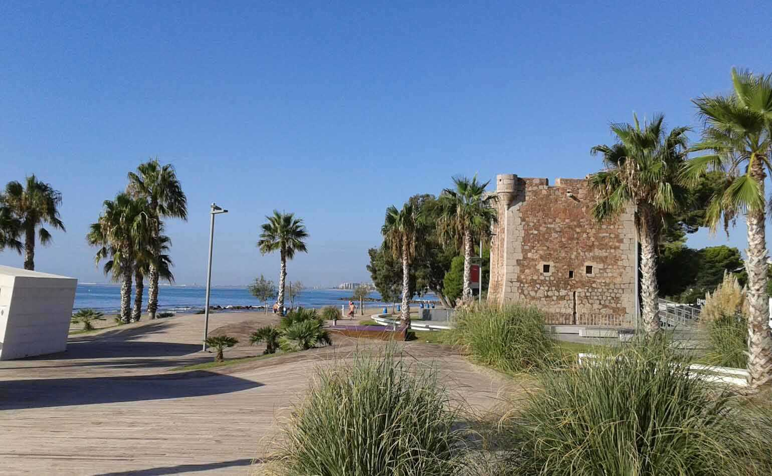 Torre de Sant Vicent Beach