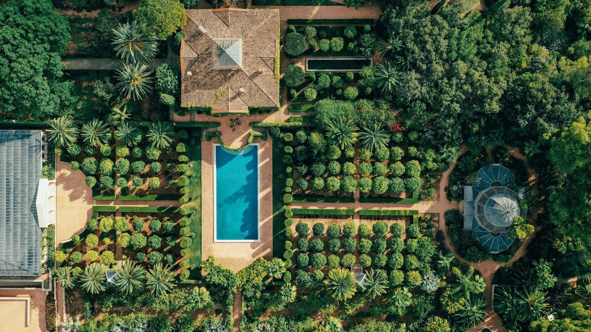 jardin de l'albarda