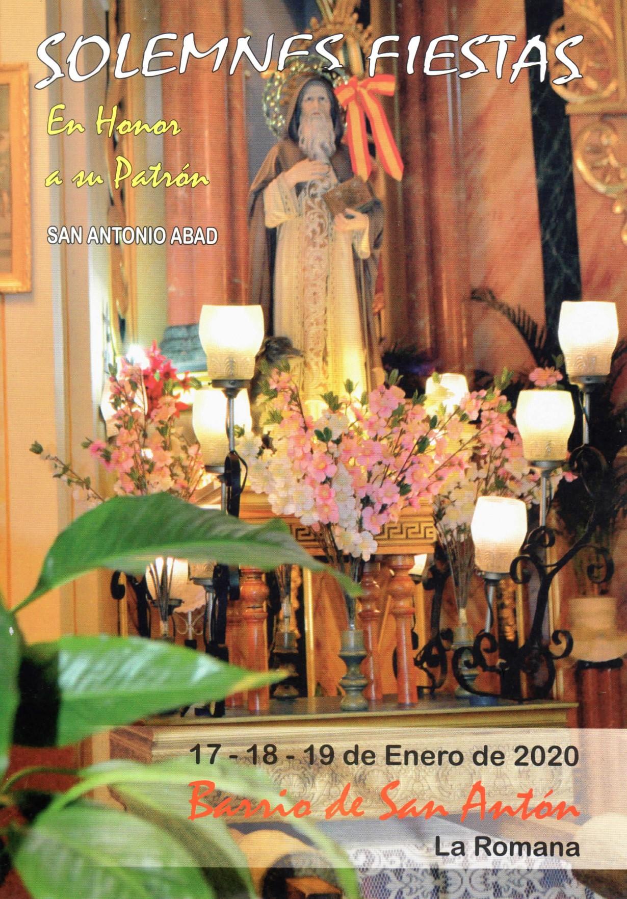 Fiestas de San Antonio Abad en La Romana