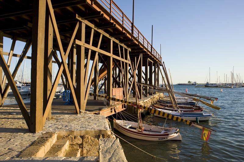 Historisches Baudenkmal Eras De La Sal Und Embarcadero