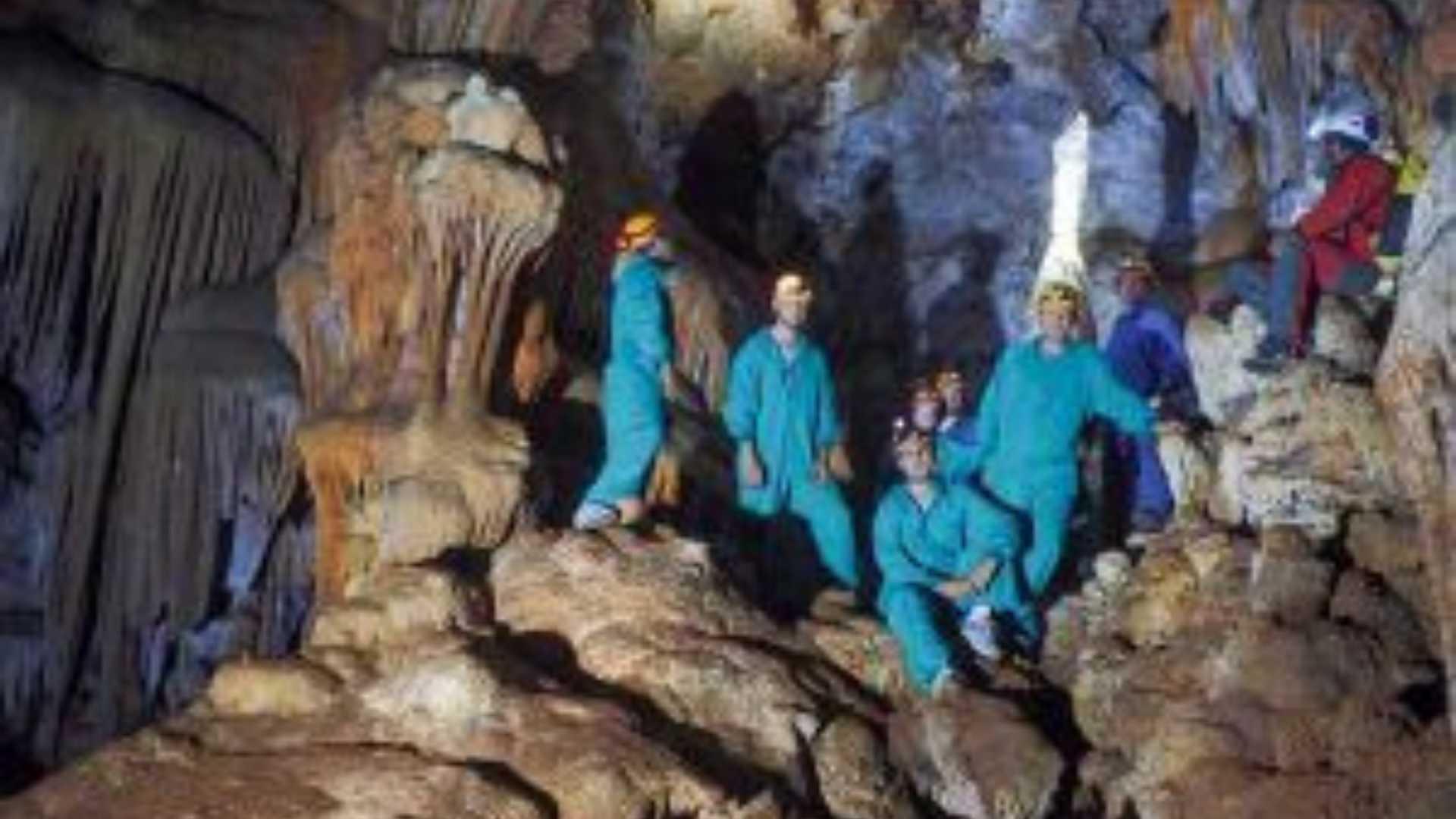 Caving - an underground adventure