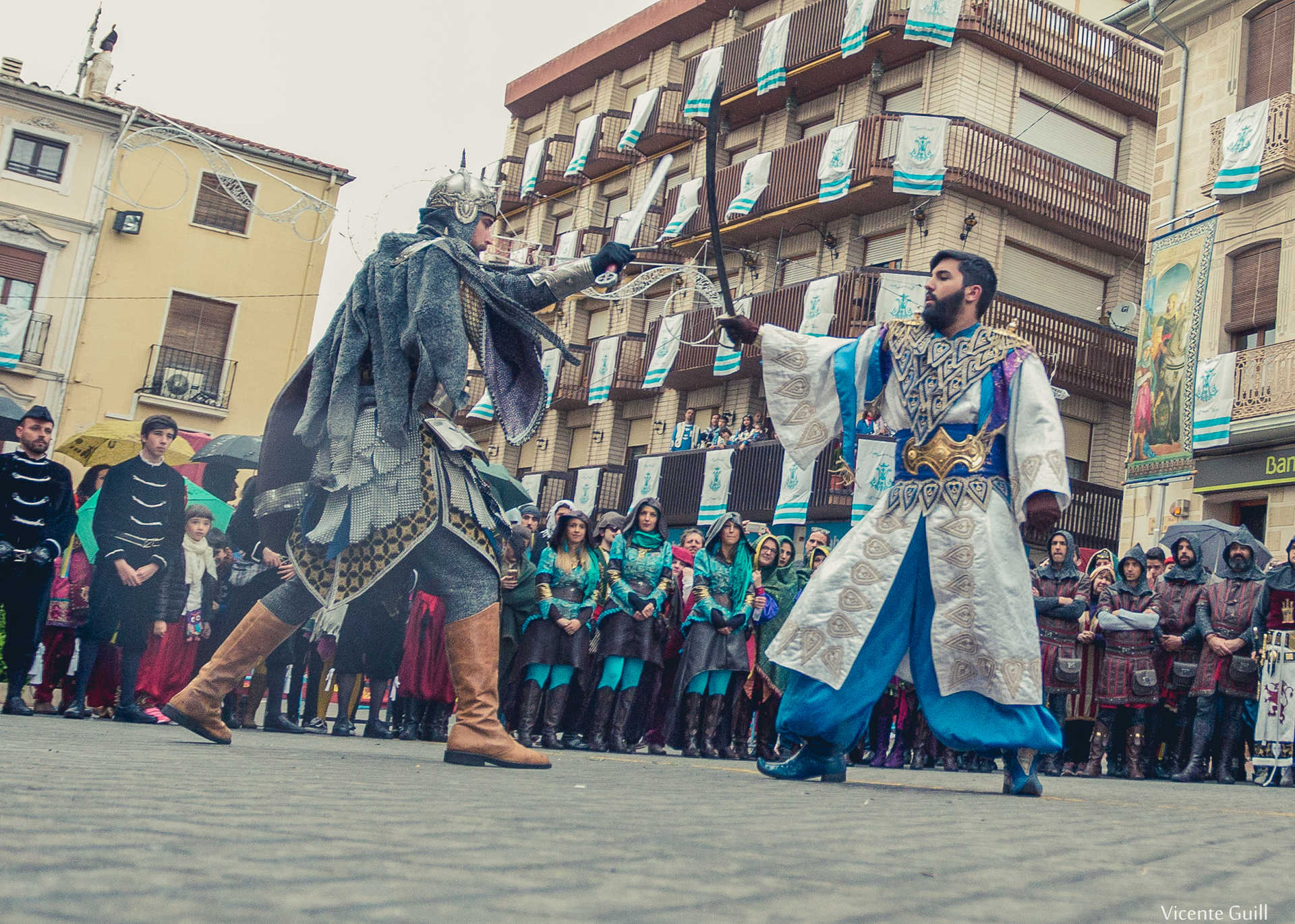 MOORS AND CHRISTIANS FESTIVITIES IN HONOUR OF VIRGEN DE LA SALUD
