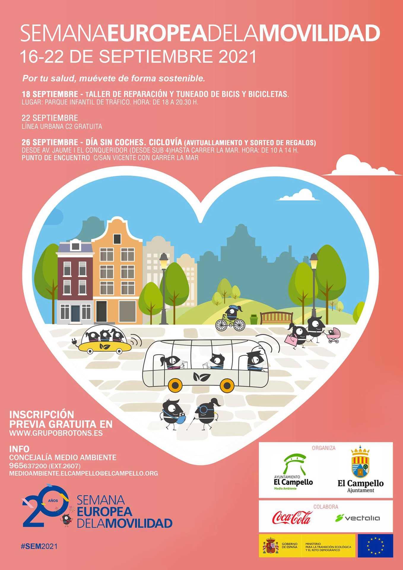 Semana Europea de la Movilidad | El Campello 2021