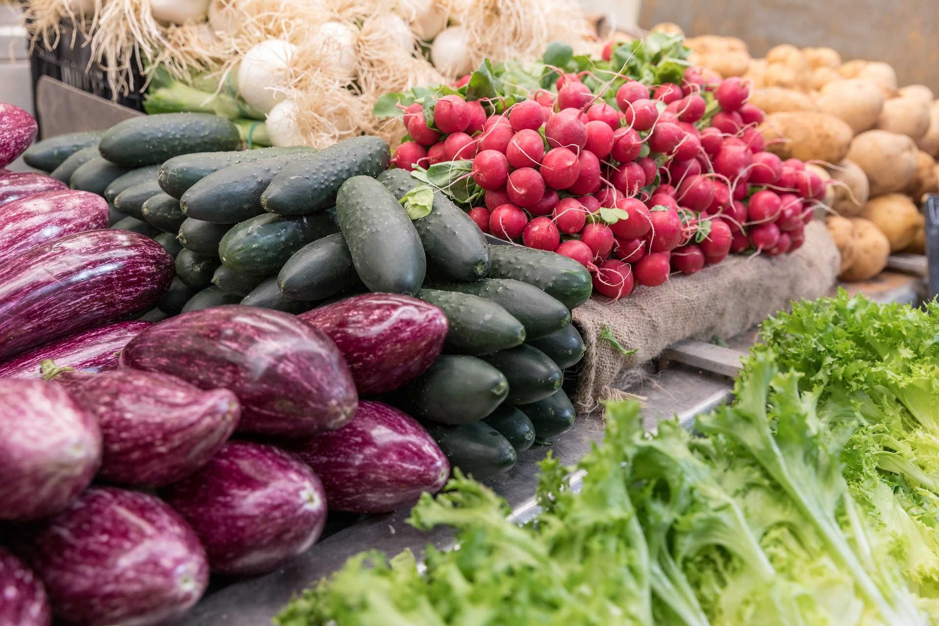 Verduras de la huerta
