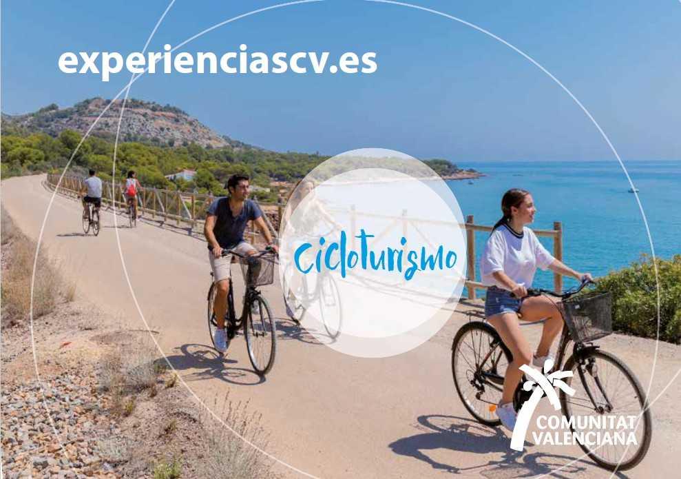 Cicloturismo en la Comunidad Valenciana. ExperienciasCV
