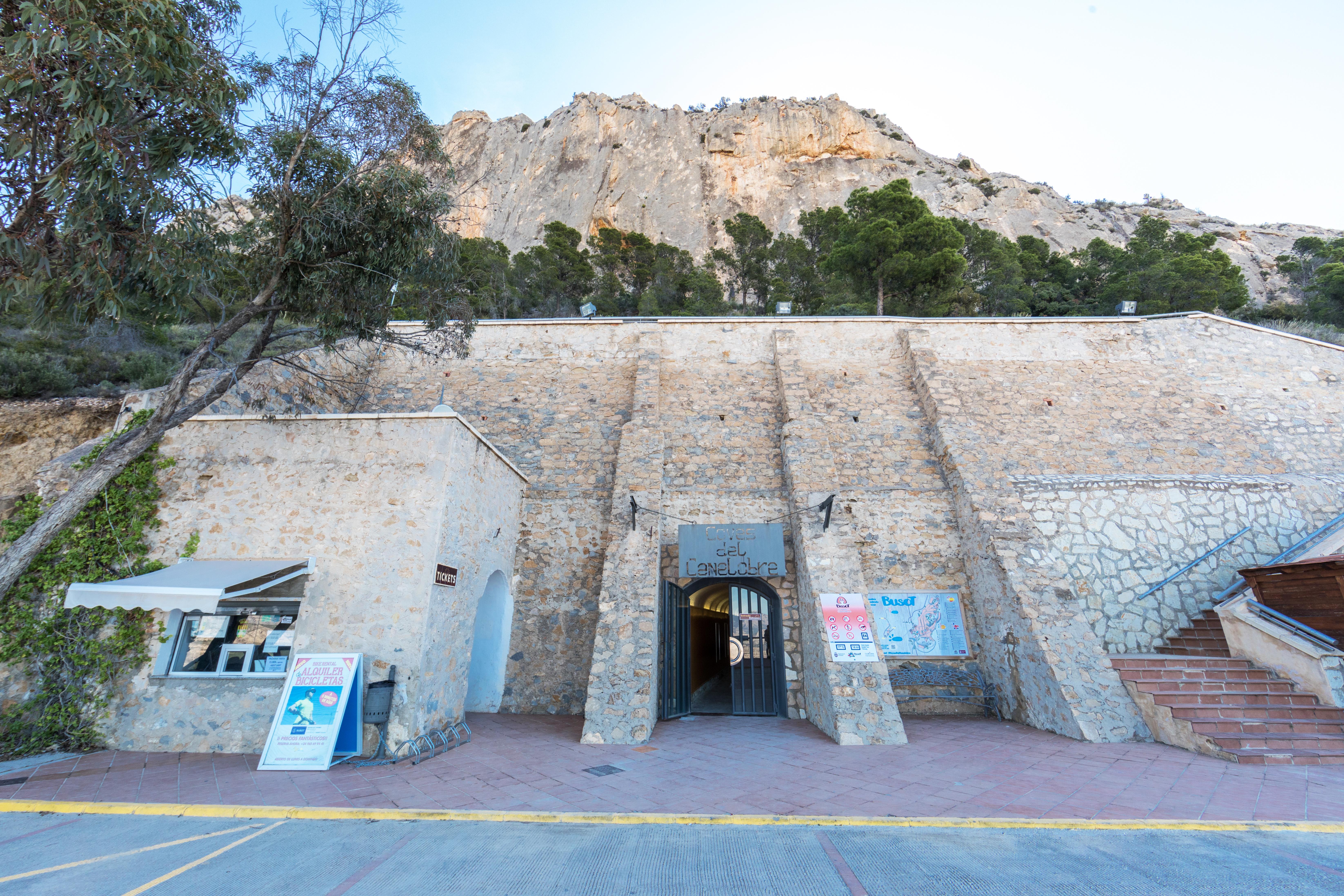Les grottes de Canelobre