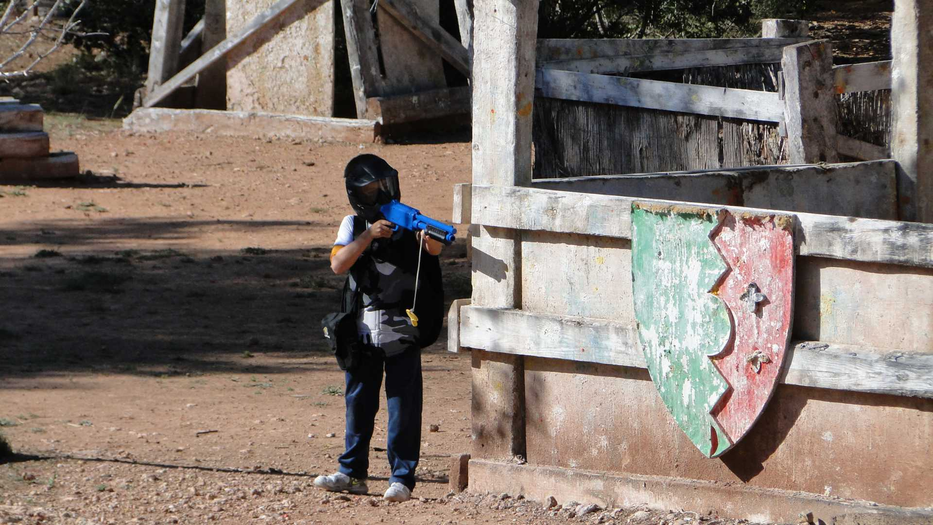 PAINTBALL XIQUETS