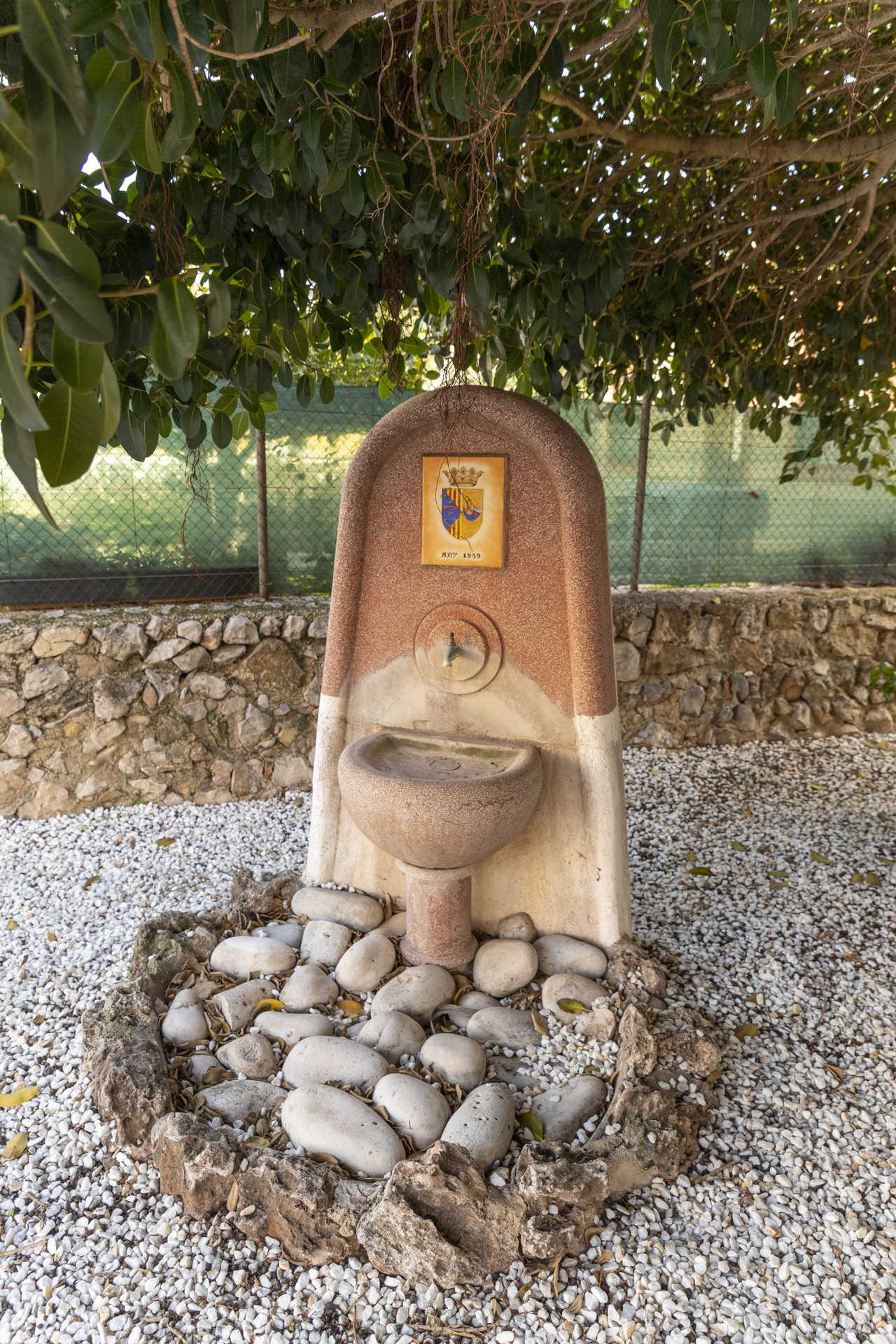 Antigua fuente del pueblo