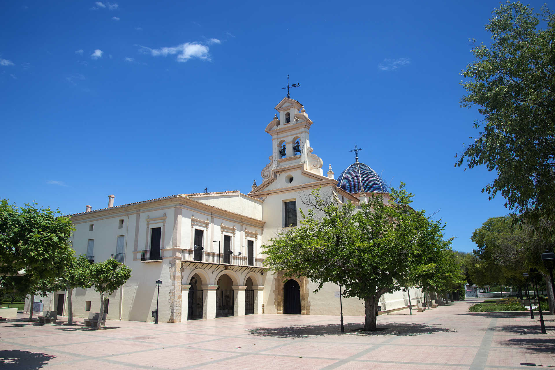 The Basilica Of La Mare De Déu Del Lledó