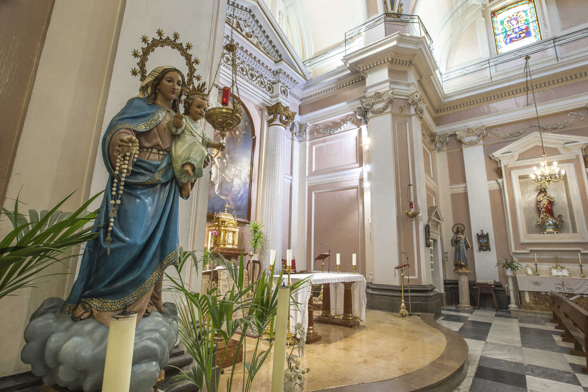 Iglesia parroquial de Santo Tomás de Villanueva