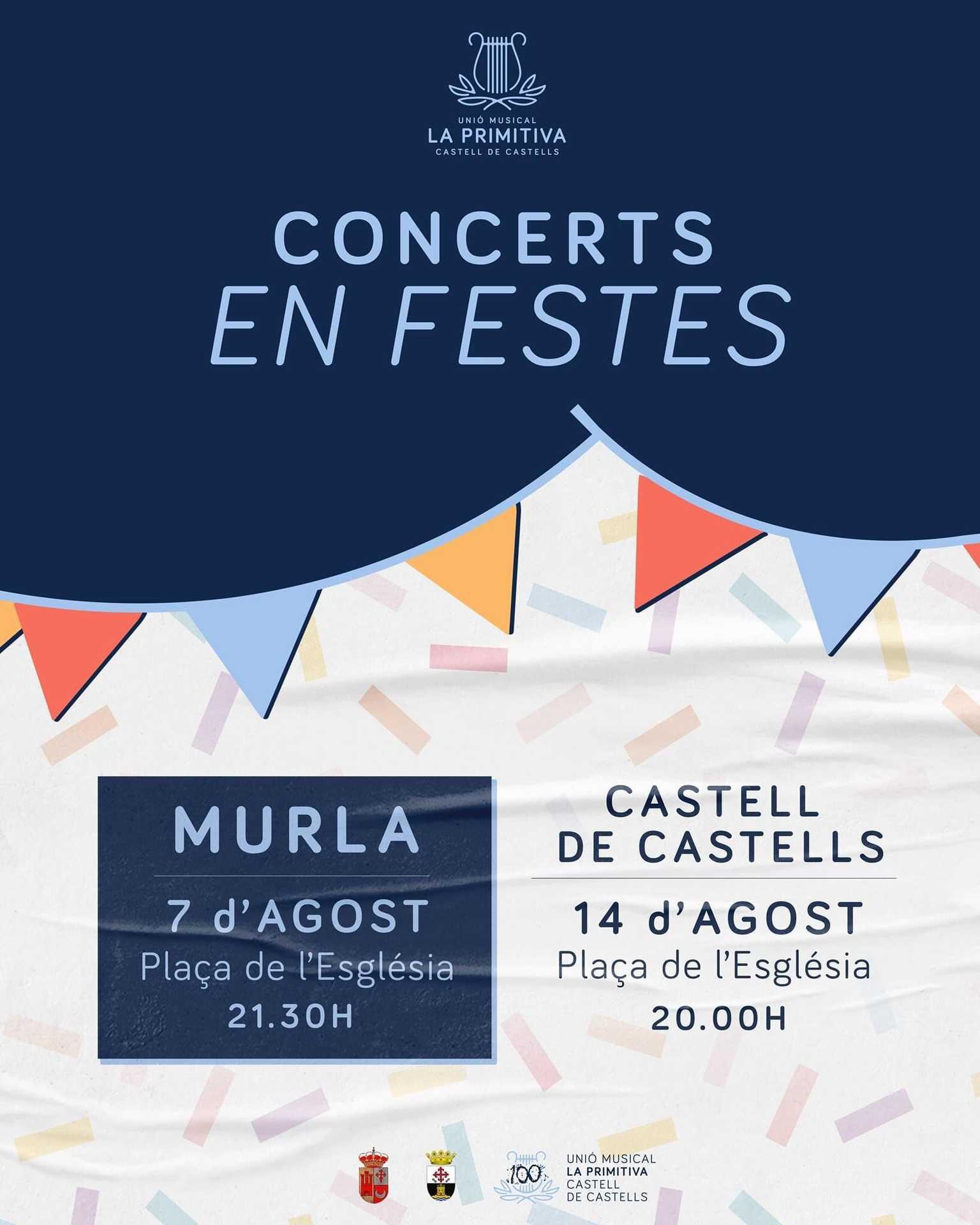 'CONCERTS EN FESTES' - CONCIERTO MURLA