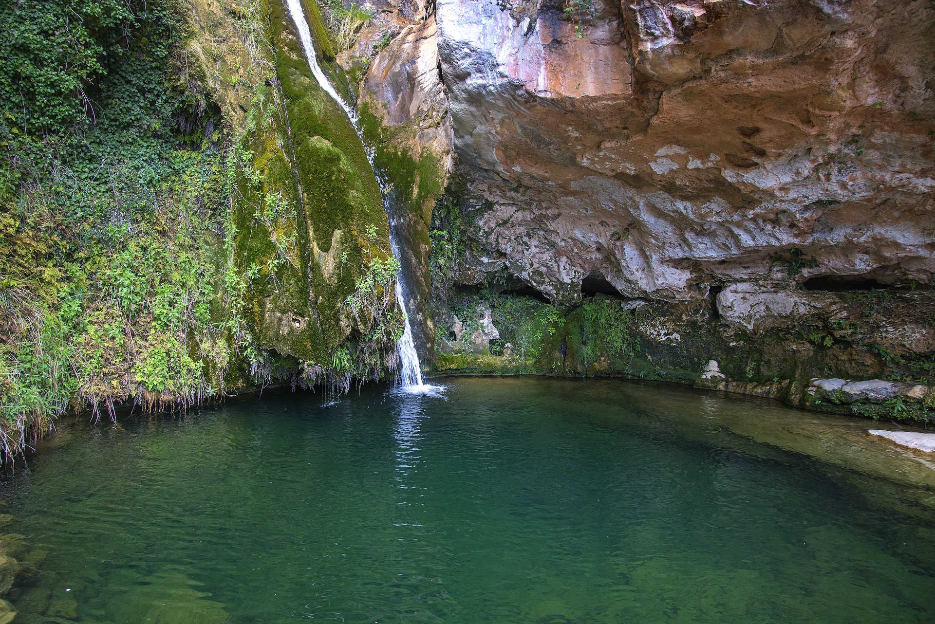 Der Wasserfall des Flusses Carbo: das Eden von Castellón