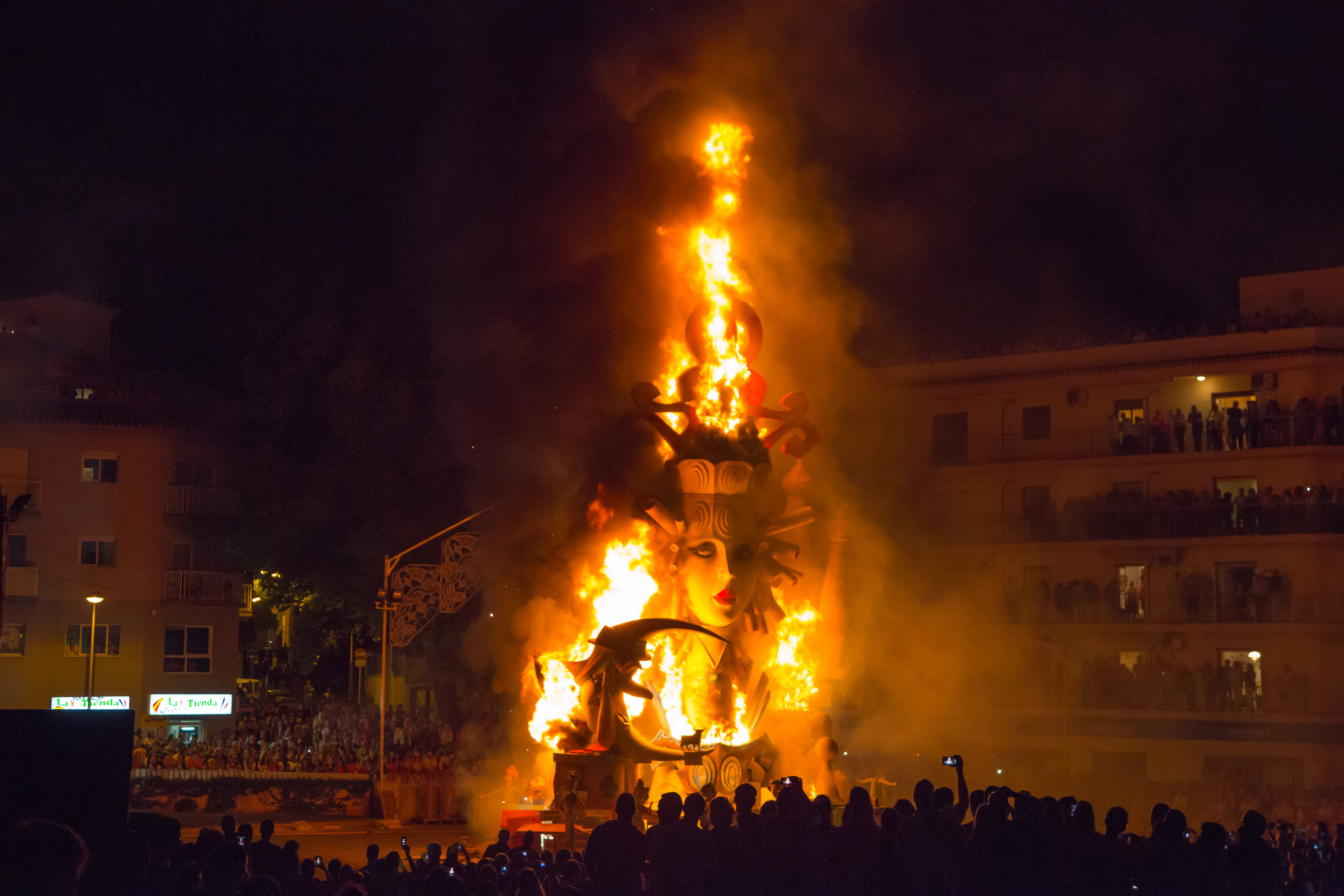 BONFIRES OF SAN JUAN