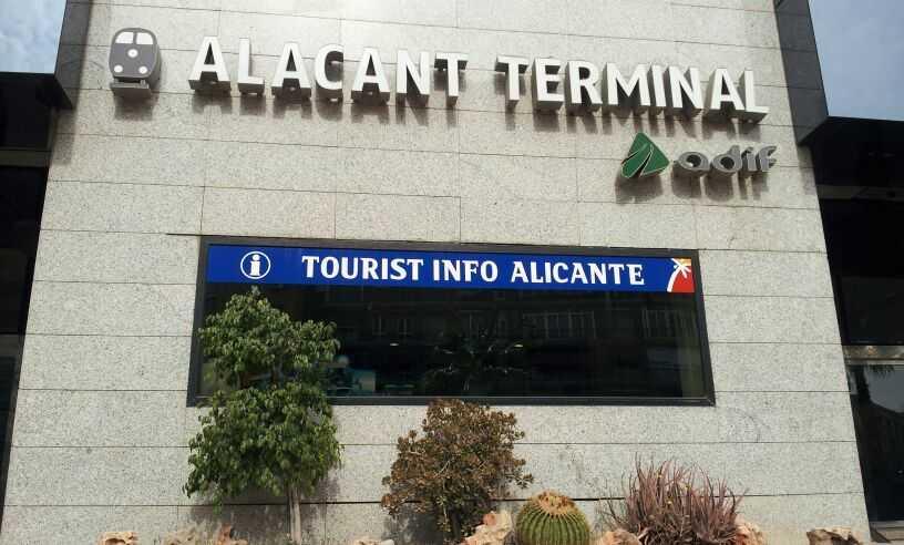 TOURIST INFO ALICANTE - RENFE