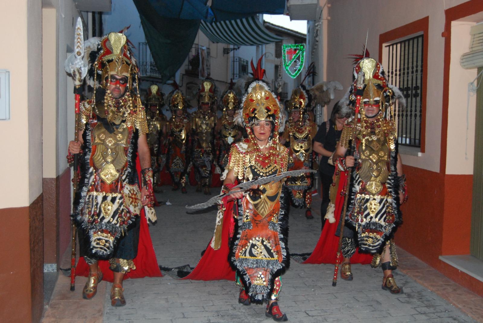 Festes de Moros i Cristians en Alcalà de la Jovada