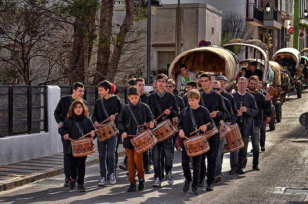 Fiestas de Sant Antoni en Gata de Gorgos