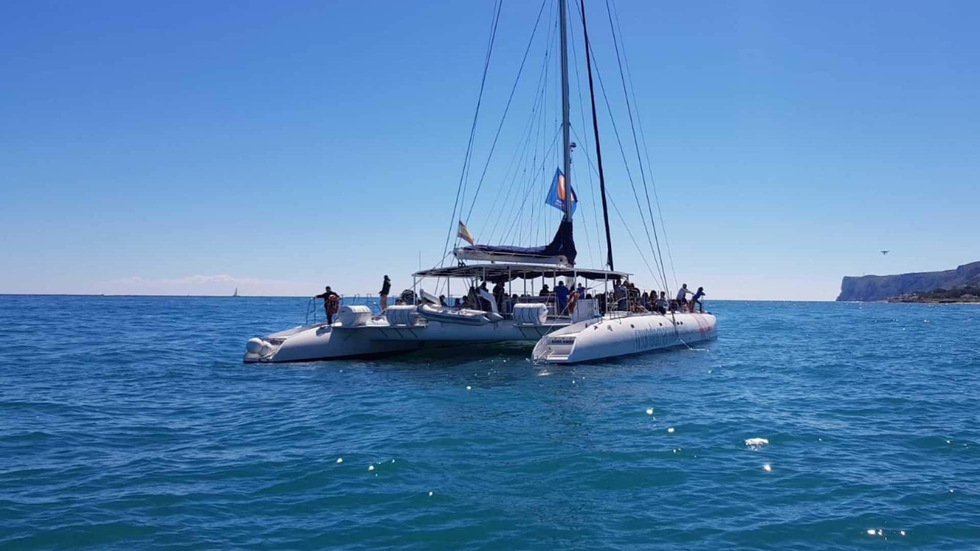 Bootsfahrt in der Bahía de Dénia