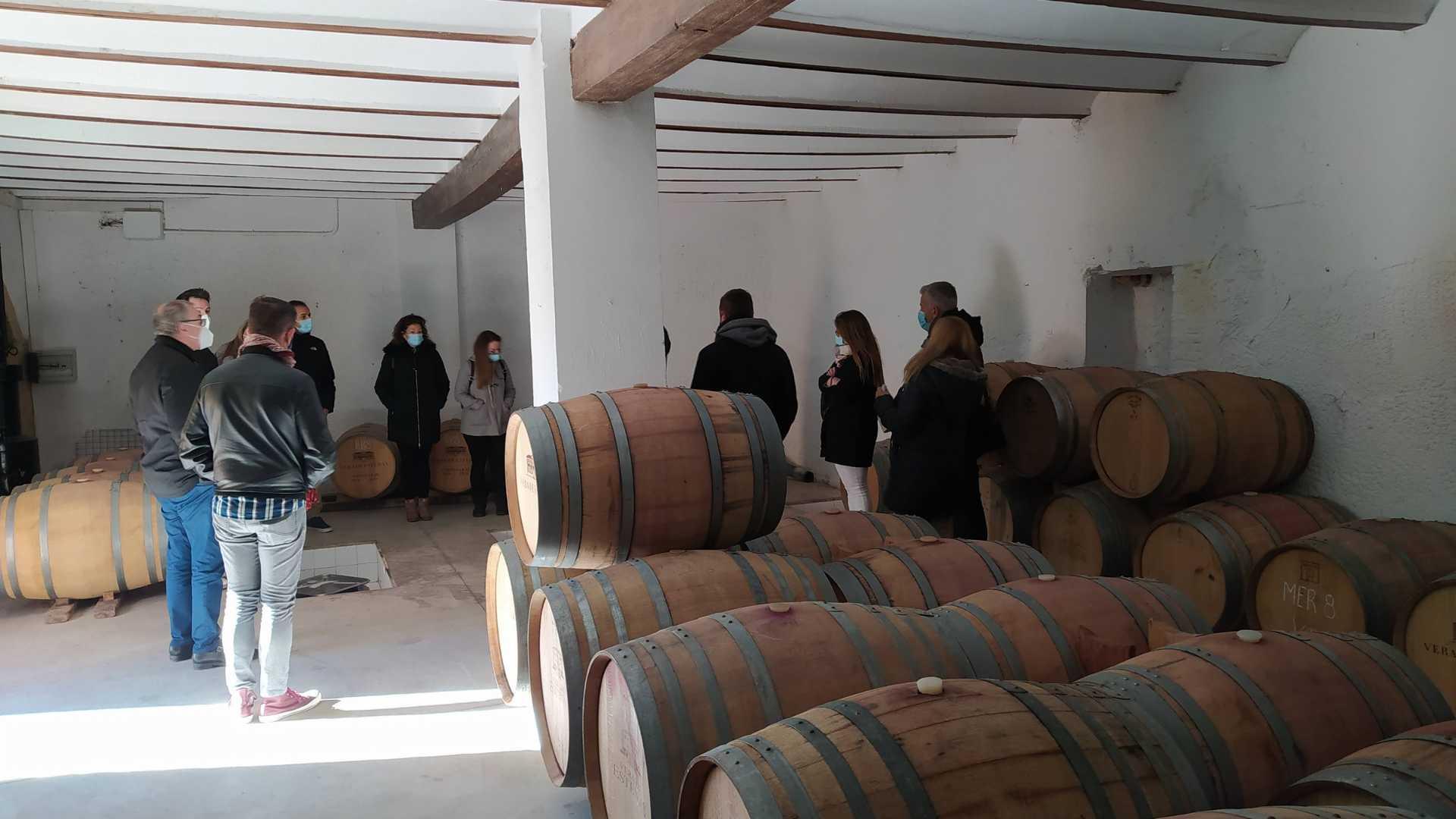 Visite à une bodega surprise avec dégustation de vins