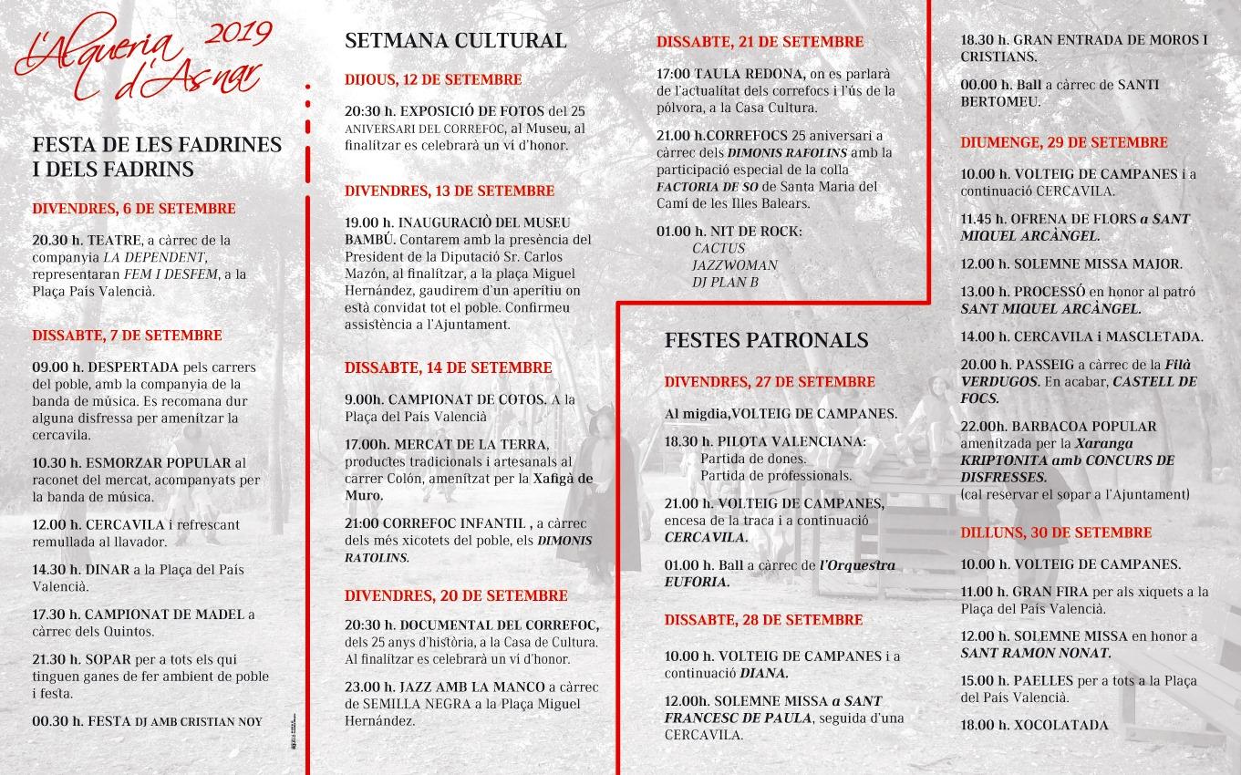 Fiestas patronales en honor a San Miguel Arcágel