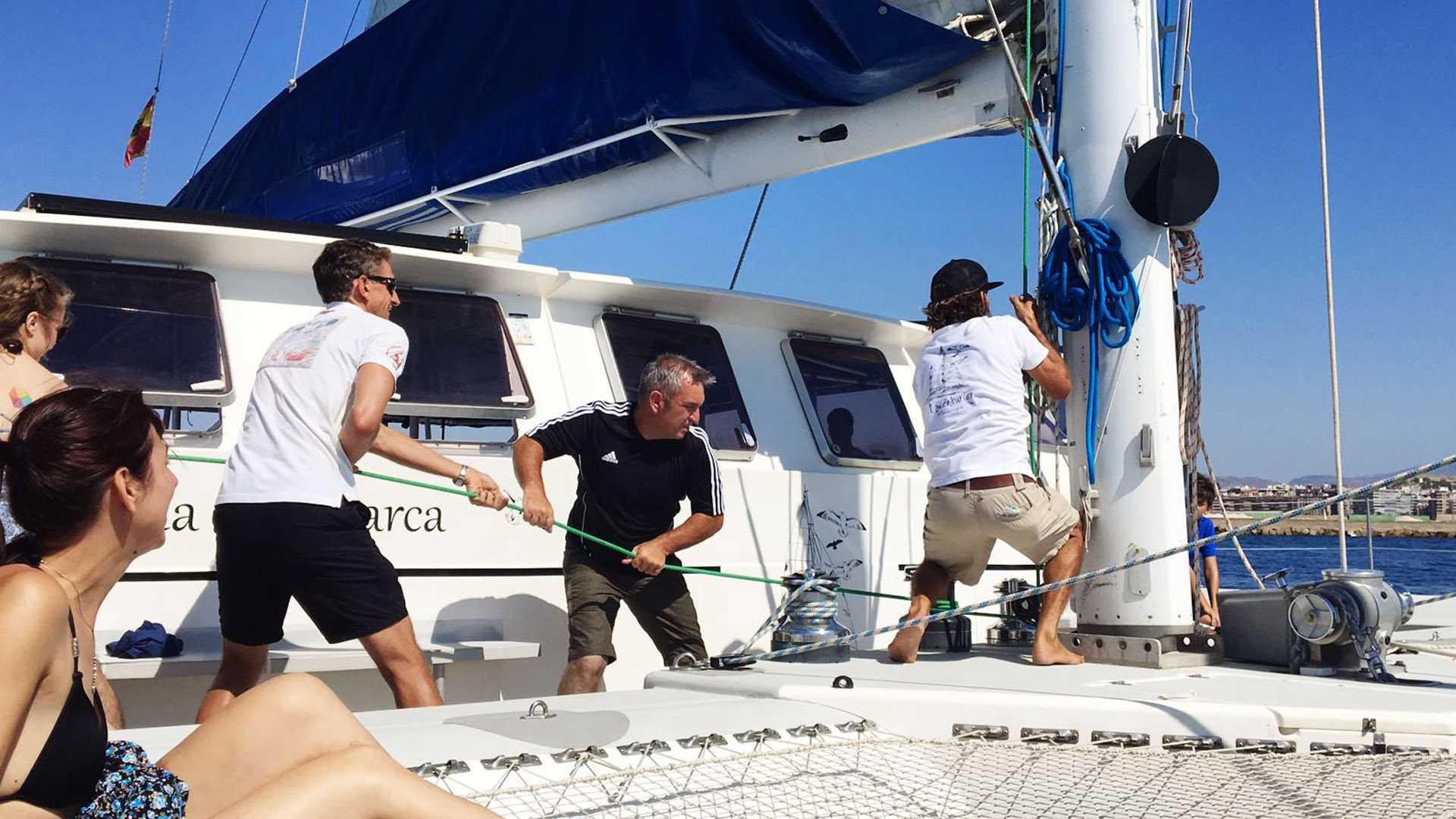 catamaran hire alicante